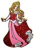 Disney Parks Princess Aurora ''Curtsy'' Glittered Trading Pin