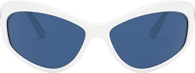 Ralph Lauren 0rl8179 Lentes Oscuros, Blanco Metálico/Azul, 62 para Mujer: Amazon.es: Ropa y accesorios