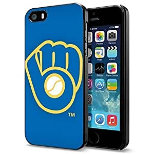 meilinF000MLB Milwaukee Brewers Retro Baseball, Cool iphone 5/5s Smartphone Case CovermeilinF000