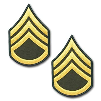 Amazon | アメリカ陸軍 階級袖章...
