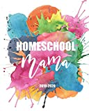 Homeschool Mama 2019-2020: Teacher Planner For Homeschoolers | Watercolor Rainbow | August 2019- July 2020 School Year Monthly and Weekly Calendars | ... Grade Sheets and Attendance Checklist