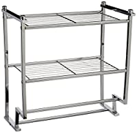 Organize It All Metro 2-Tier Wall Mounting Rack with Towel Bars (16988)