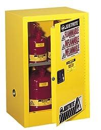 Justrite 891200 Sure-Grip EX 12 Gallon, 35\