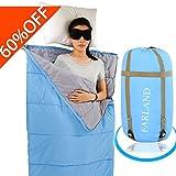 FARLAND Lightweight Sleeping Bag& Portable Envelope Bag for Summer Outdoor Activities