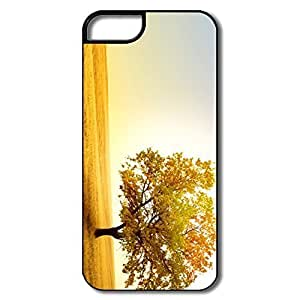 IPhone 5 5S Case, Golden Field White/black Covers For IPhone 5S