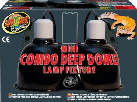 Zoo-Med-Labs-Mini-Combo-Deep-Dome-Dual-Lamp-FixtureBlack