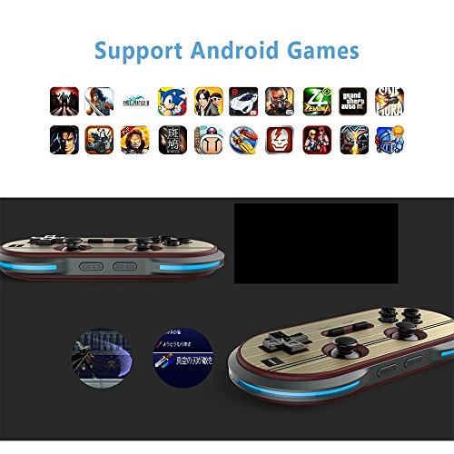 8Bitdo F30 Pro Wireless Bluetooth Controller Game Gamepad Retro Styled for Android / MacOS / Windows by RunSnail (Image #4)