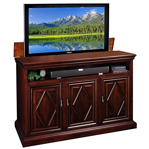 Corner Stand Maple Tv (Estancia TV Lift Cabinet)