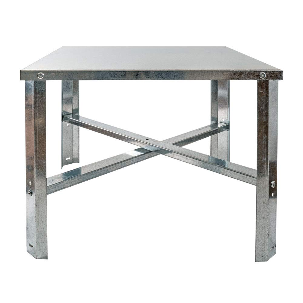 Eastman 86279 Water heater stand silver, 75-100 Gallon by Eastman