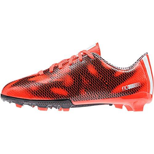 adidas F10 Firm Jungen Fußballschuhe CBLACK/FTWWHT/CBLACK