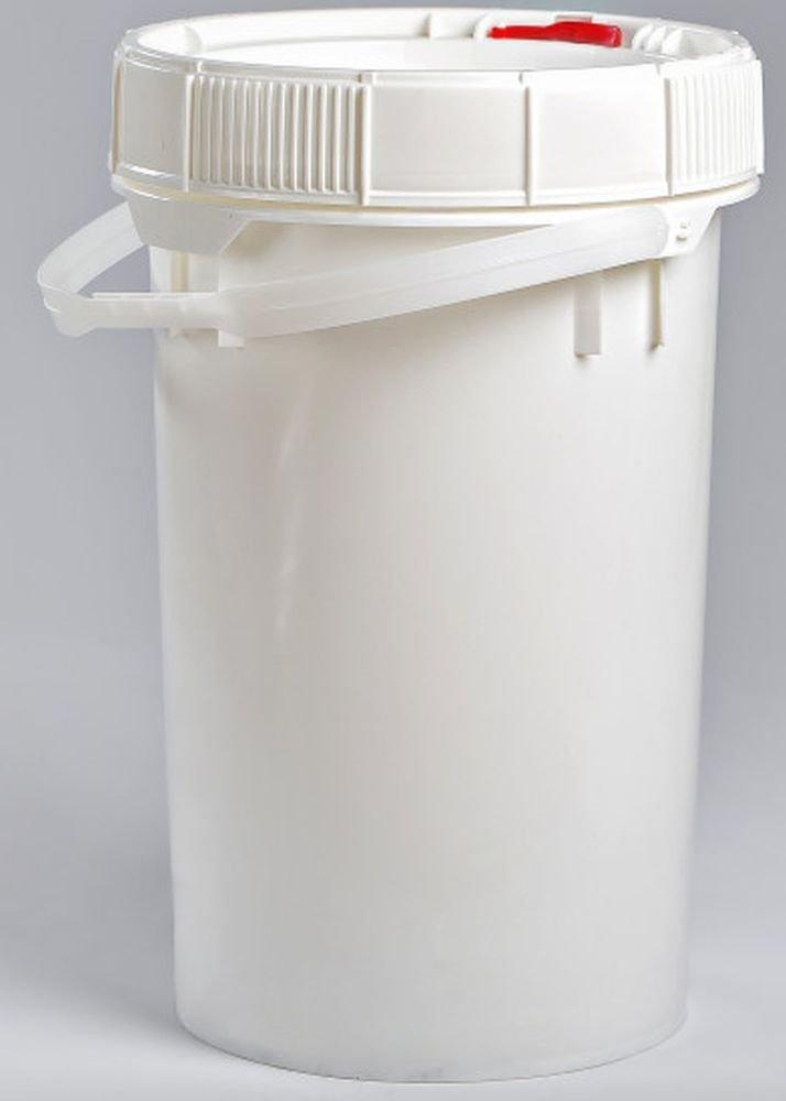 Life Latch 6.5 GAL Screw TOP Food Grade Bucket-3 Pack