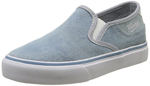 Kaporal Valed - Náuticos de canvas niño azul - Bleu (53 Bleu Denim)