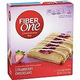 Fiber One Cheesecake Bar, Strawberry, 5 ct