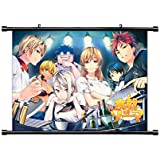 Food Wars (Shokugeki no Soma) Anime Fabric Wall Scroll Poster (32x23) Inches