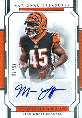 Malik Jefferson autographed Football Card (Cincinnati Bengals ...