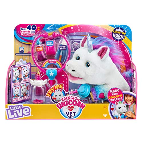Rainglow Unicorn Vet Set is one of the latest toys for girls ages 6 years old