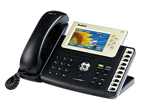 Gigabit Color Ip Phone (Yealink YEA-SIP-T38G Gigabit Color IP Phone ( without power supply))