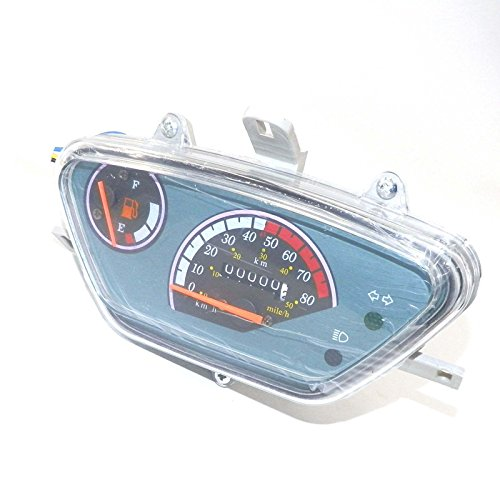 YunShuo 50cc Instrument Gauge for Scooter Moped Speedometer Chinese Parts TAOTAO ATM50A