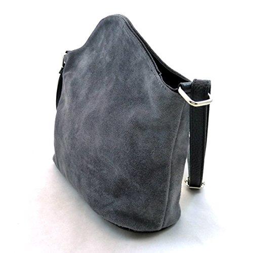 30060 Ta grigio Grau Messenger Borsa Schuhmacher xqwZYXC
