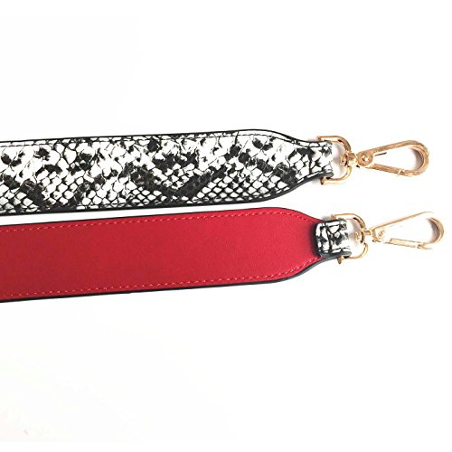 for Strap Size Shoulder Wide 4CM 90CM Strap Red Purse and Handbags Replacement Strap Bags Style Gallery Snake Lam Guitar Grain 8Oxgf5