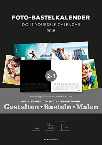 Calendario Da Muro Fai Da Te 2018 21X29,7 Cm