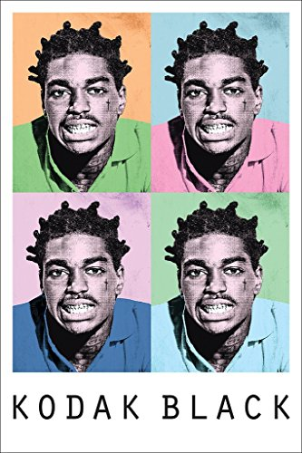 Kodak Black Poster Hip Hop Trap Rapper Free Motivational