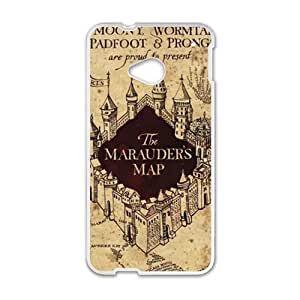 Happy Harry Potter Marauder's Map Cell Phone Case for HTC One M7