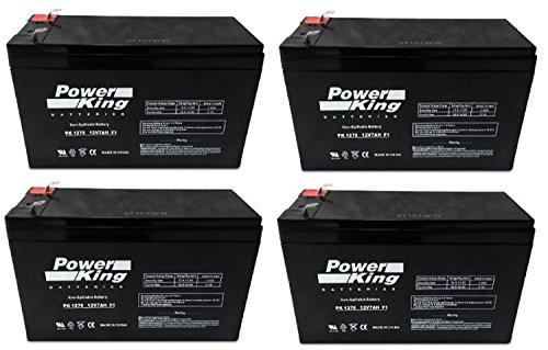 APC Smart-UPS 1500 RM 2U Battery Replacement Batteries - Kit of 4