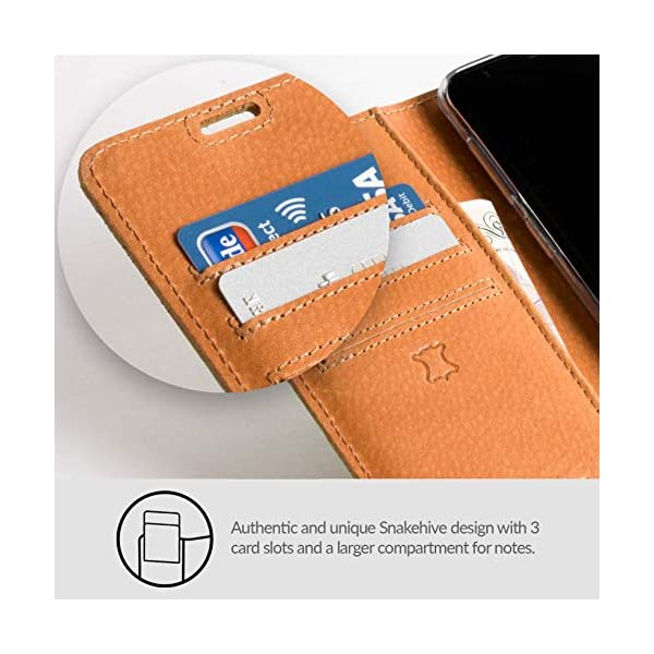 brand new 8668c b2001 Snakehive SAMSUNG NOTE 9 case, Luxury Genuine Leather Wallet with ...