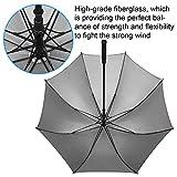 Rainlax-Windproof-Golf-Umbrella-62-inch-Oversize-Canopy-Automatic-Open-Large-Outdoor-Golf-umbrella-RainWind-Repellent-Sun-Protection-Stick-Umbrellas