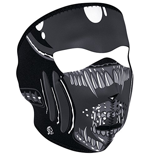(Zanheadgear Neoprene Full Face Mask, Alien )