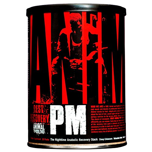 Universal Nutrition Animal PM The Nighttime Anabolic Recovery Stack Supplement,30 packs (Post Workout Stack)