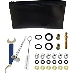 KegWorks Draft Beer System Parts Repair Kit w/Storage Pouch