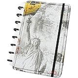 Caderno A-5 Brooklyn com 80 Folhas Caderno Inteligente