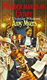 Front cover for the book Murder Makes an Entrée by Amy Myers