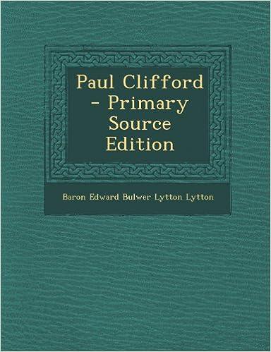 Book Paul Clifford