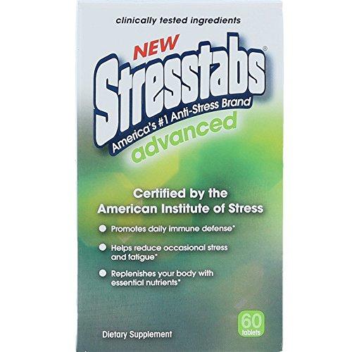 (Stresstabs Advanced Tablets 60 Tablets ( Pack of 2))