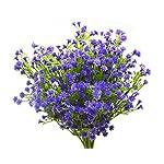 6pcs-Artificial-Plants-Plastic-Fake-Flowers-Baby-BreathGypsophila-Bride-Holding-Flower-Faux-Plants-Shrubs-Flowers-Wedding-Home-Garden-Outdoor-UV-Resistant-DIY-DecorRed