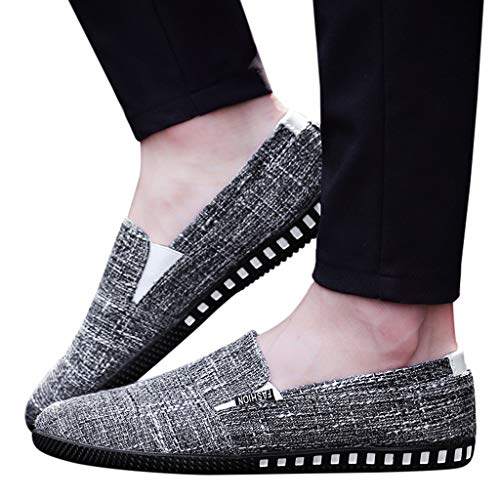 Todaies Fashion Men's Slip On Canvas Sports Loafers for sale  Delivered anywhere in USA