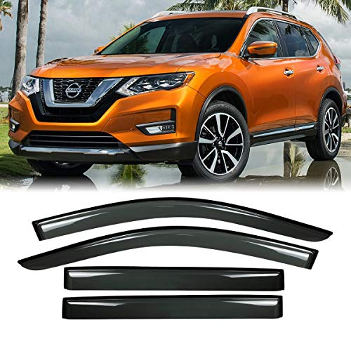 nissan rogue window deflector - 8