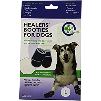 HEALERS Medical Dog Boots and Bandages - Large