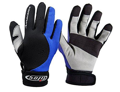 1.5mm Tropical X Mesh Sporting Glove (Black/Blue, X-Large)
