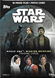 Topps Star Wars: Road To Rogue One Trading Cards Value Box 10Ct