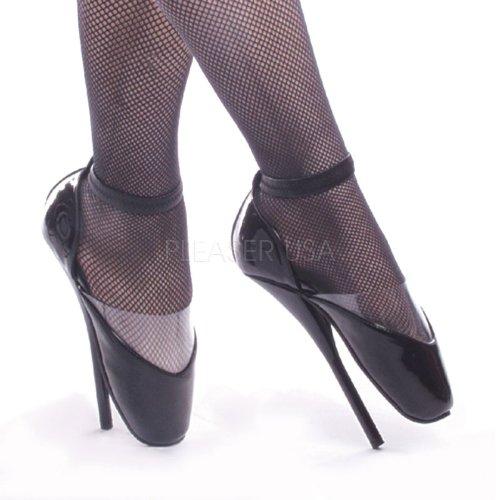 Devious , Chaussures à talons femme - Noir - noir, 44.5 (11 UK)