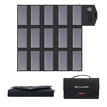 ALLPOWERS Cargador Solar Portátil del Panel 100W 18V 12V Plegable USB Y Un Cargador De Batería Solar del Puerto De DC para Los Teléfonos Móviles del ...