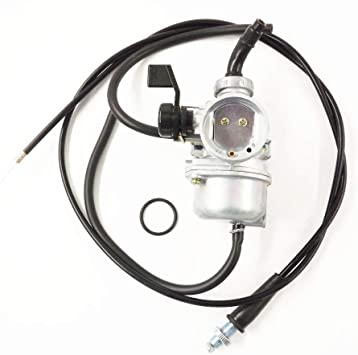 labwork-parts 48mm Carburetor /& Throttle Cable for Honda CRF70 XR70 CRF70F XR70R Carb Does not apply