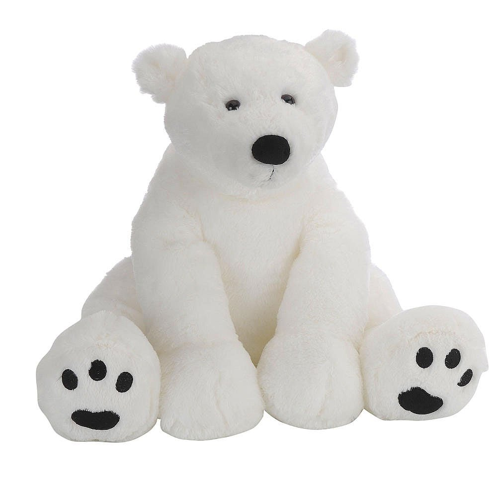 15.5 inch Polar Bear Stuffed Animal