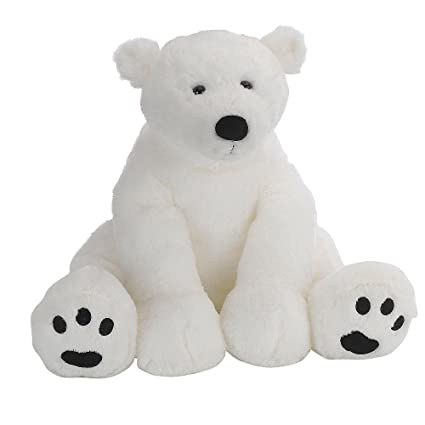 Amazon Com Animal Alley 15 5 Inch Polar Bear White By Unknown