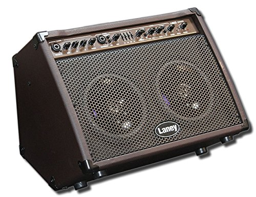 Laney Amps LA Range LA65D 70-Watt 2x8 Acoustic Guitar Amplifier by Laney Amps