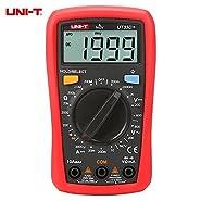 UNI-T UT33D+ 1999 Counts Digital Multimeter with NVC Tester Manual Range 60V Voltage Meter 10A DC Ammeter LCD Backlight